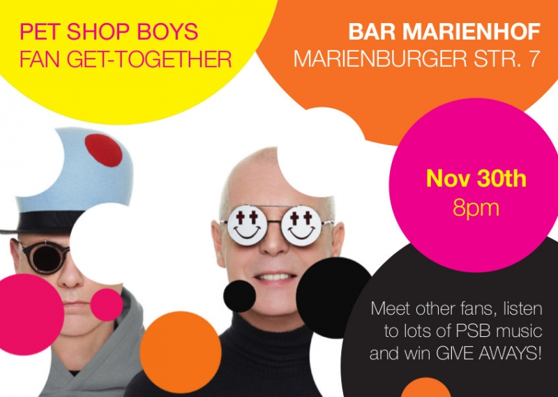 Join us for a fan get together in berlin pet shop boys online petshopboys fan get together berlin full m4hsunfo